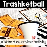 Trashketball Content Review Activity **Editable for any Su