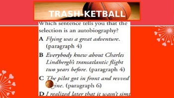 Trashketball Review Game