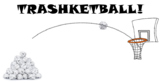Trashketball Review Game Template. Fun GIFs! Any Subject.