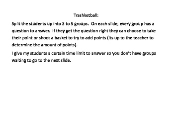 Trasketball - Exponent Rules