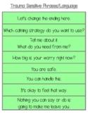 Trauma Attachment Power Phrases to Calm the Brain/Deescalate Behavior & Emotions