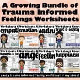 Trauma Informed Feelings Workbook Bundle