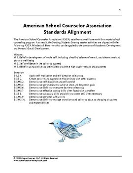 Sending Students Soaring: Trauma-Informed Group Counseling Guide