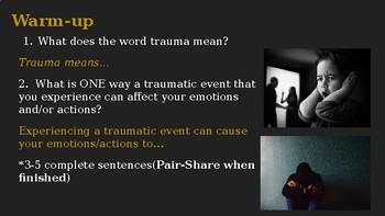 Trauma Powerpoint