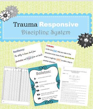 Trauma Responsive Discipline System Bundle