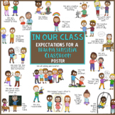 Trauma Sensitive Classroom Rules & Expectations Poster  *In Our Class We......