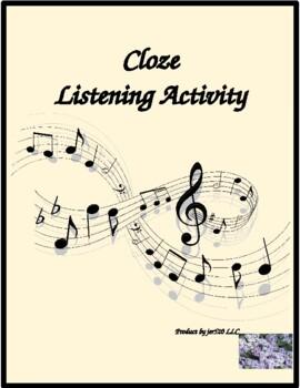 Travailler C'est Trop Dur Cloze listening activity by Zachary Richard