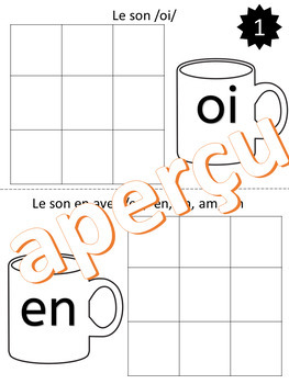 Travailler les sons - Chocolat Chaud - (French - FSL)