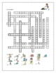 Travaux domestiques (Chores in French) crossword