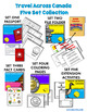Travel Across Canada Passport Activity Set Three - Fact Cards