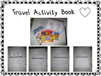 Travel Activity Book Aa Thru Zz