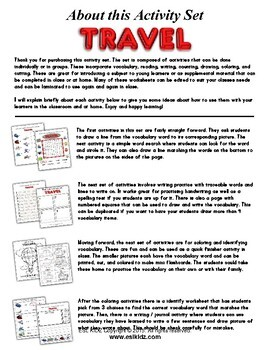 Travel Activity Set