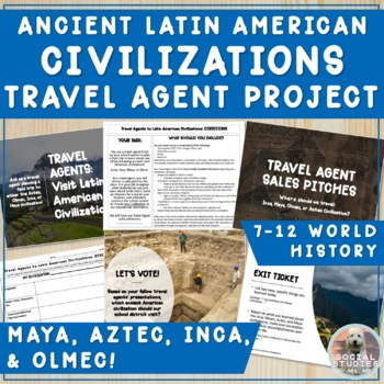 Travel Agents: Learning about Aztecs, Incas, Mayans through Trip Planning