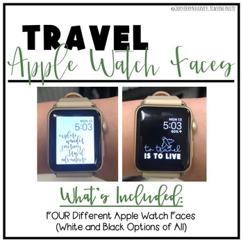 Travel Apple Watch Faces