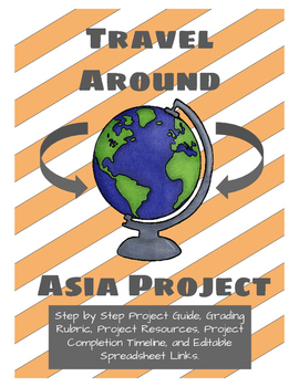 Travel Around Asia Project