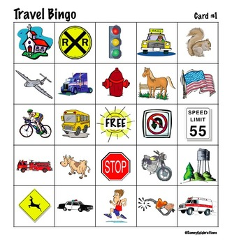 photograph regarding Travel Bingo Printable identified as Generate Bingo