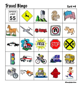 It is an image of Soft Printable Travel Bingo