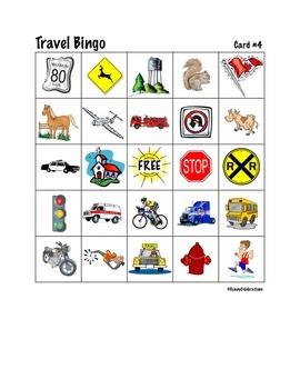 Travel Bingo - Canada