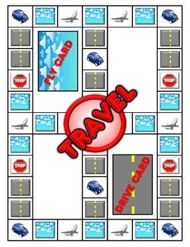 Travel Board Game Set