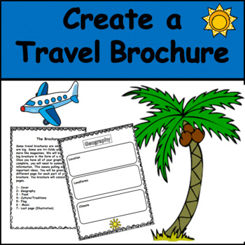 Travel Brochure: Geography/Social Studies Project