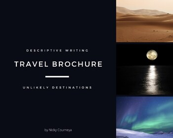 Travel Brochure Descriptive Writing Lesson Amp Rubric By