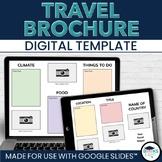 Travel Brochure Digital Template for Google Slides