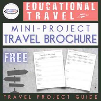 Travel Brochure Mini Project
