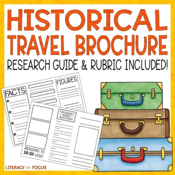 Travel Brochure Template and Research Project