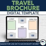 Travel Brochure Template