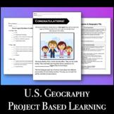 Travel Brochure - U.S. Geography & Regions PBL VA SOL UII2.C