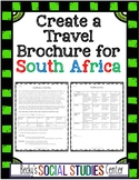 South Africa Activity: Travel Brochure