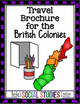 Travel Brochure of the British Colonies