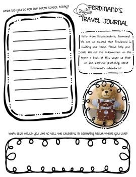 Travel Buddy Journal