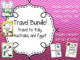 Travel Bundle! Australia, Italy, and Egypt