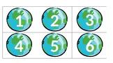 Travel Calendar Numbers