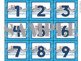 Travel Calendar Pieces (Numbers)