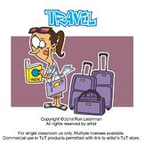 Travel Cartoon Clipart Vol. 1 - Travel Clipart for ALL Grades