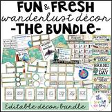 Travel Theme Classroom Decor: The Bundle