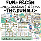 Travel Theme Classroom Decor: The Bundle