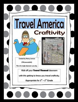 Travel Craftivity - All About Me Decoration