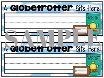 Travel Desk Nameplates