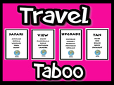 Travel Edition - Taboo Game