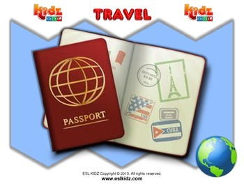 Travel Flashcard Set (60 pages)