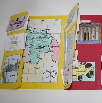 Travel God's World Country Report Lapbook