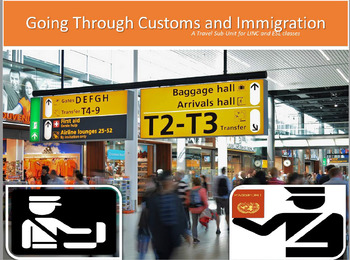 Travel: Going Through Customs and Immigration for ESL, LINC, and PBLA Classes