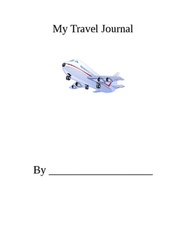Travel Journal, Absent Student Work