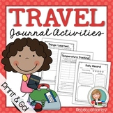 Travel Journal Activity Pack
