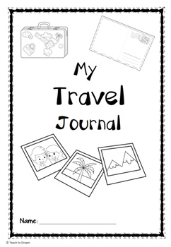 Travel Journal and Student Holiday Booklet