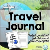 Travel Journal {Perfect for virtual field trips and resear