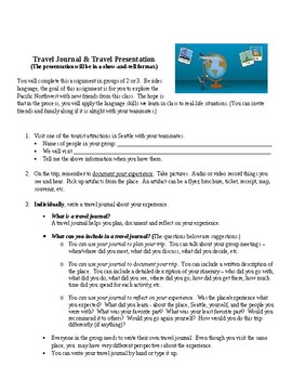 Travel Journal for English Learners